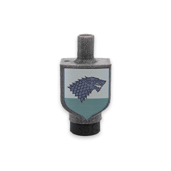 Boquilla-3D-casa-Stark-Juego-de-tronos-HC-tip-throne-wolf