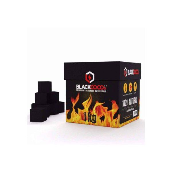 Carbón vegetal coco blackcoco's 1 kg