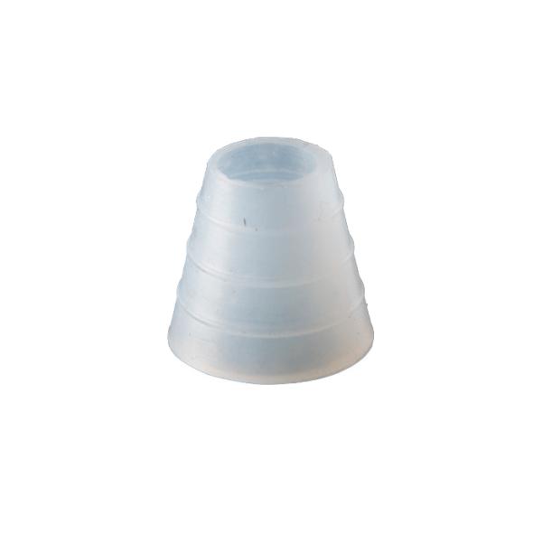 Goma de silicona junta manguera blanca