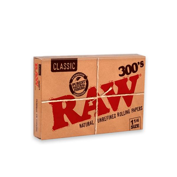 Papel de fumar Raw 1 1-4 300 hojas Classic