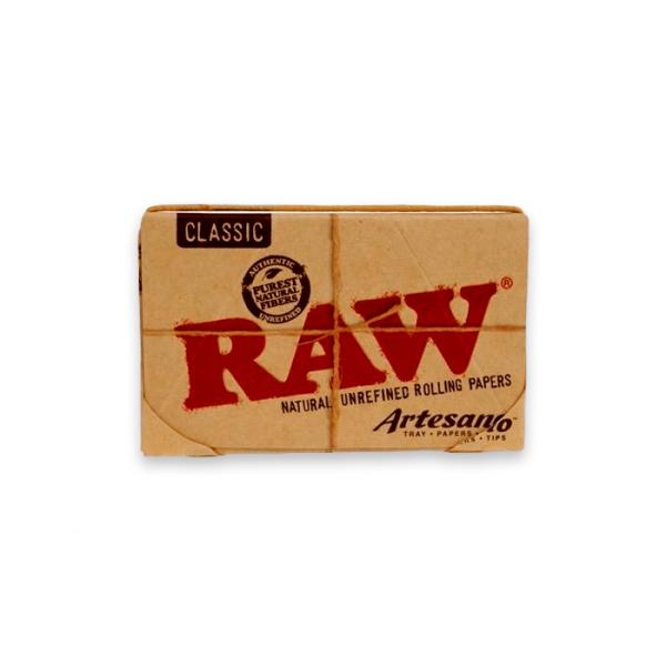 Papel de fumar Raw 1 1-4 Artesano Classic