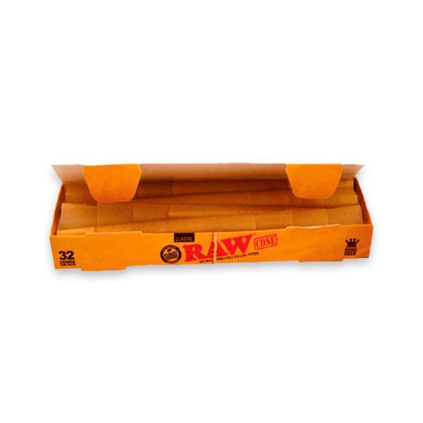 conos de papel raw king size classic 32uds