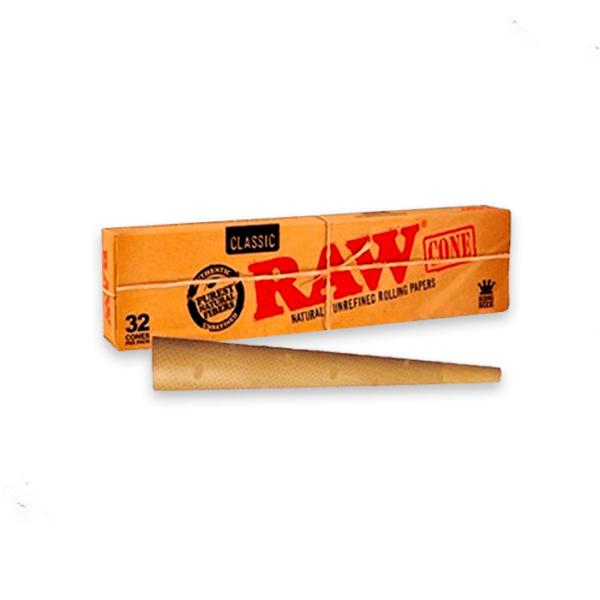 conos de papel raw king size classic 32uds1
