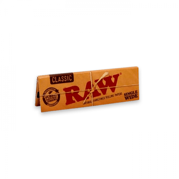 papel de fumar Raw Single wide classic