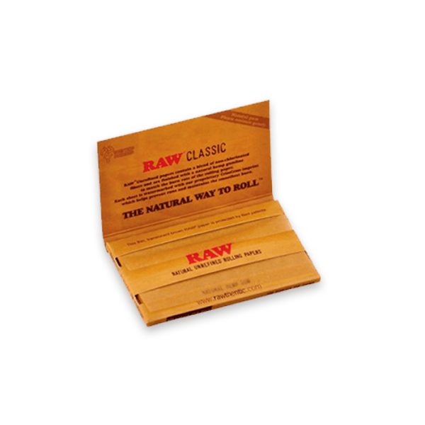 papel de fumar raw single wide double classic