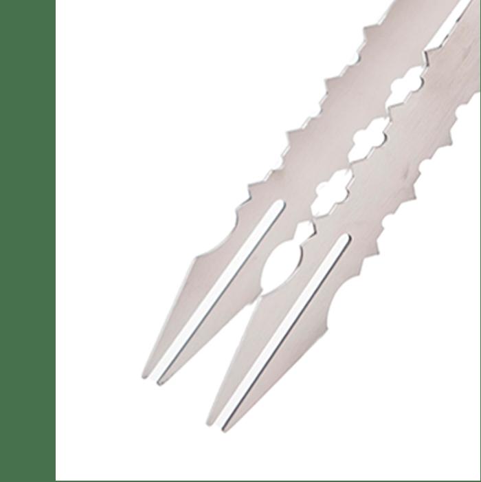 Pinzas Acero Inoxidable Spear de la marca Cold Smoke de 25 cm