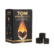 Carbón vegetal coco para cachimbas Tom Cococha Gold 1 kg