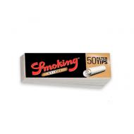 filtros de cartón blanco smoking medium size