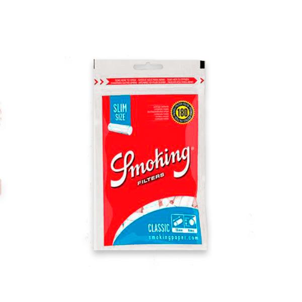 filtros smoking slim 180 uds
