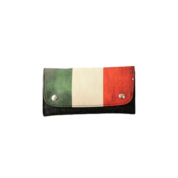 Porta tabaco Italia con cierre