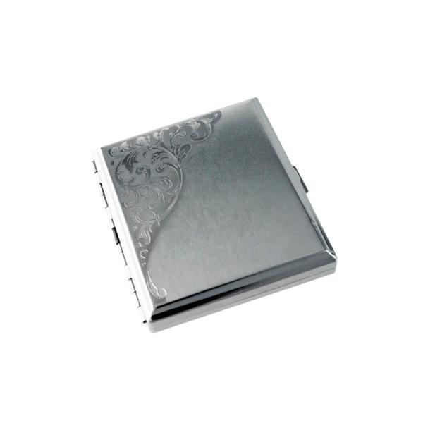 pitillera de Metal TarGard floral
