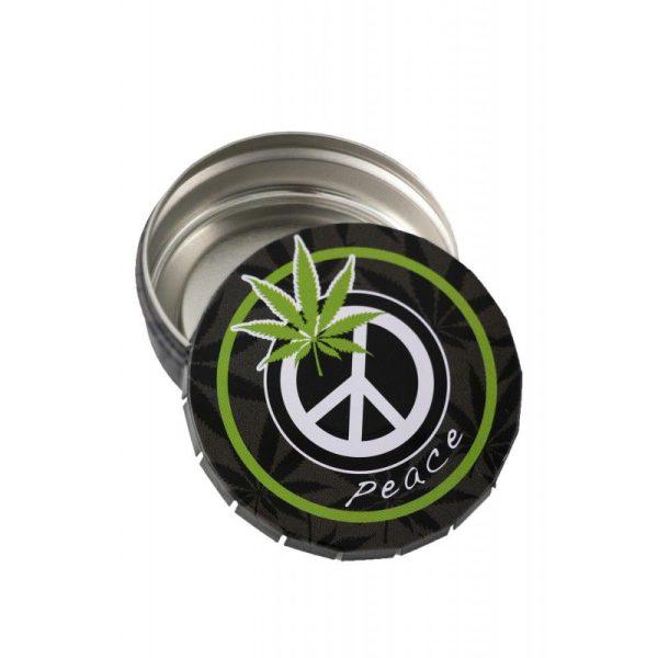 caja de metal click peace