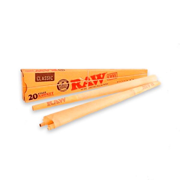 Conos de papel raw rawket 7 medidas classic (20uds)1