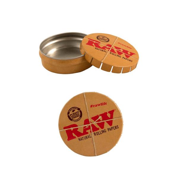Caja metálica autocierre Raw