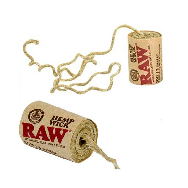Cuerda de cáñamo Raw 3 metros