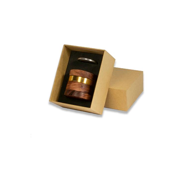 grinder kañamero de madera clara caja