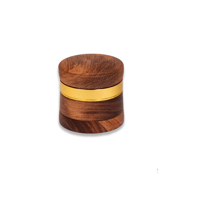 grinder kañamero de madera clara cerrado