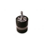 grinder metálico 4 partes manivela negro