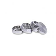 grinder metálico kañamero 4 partes abierto