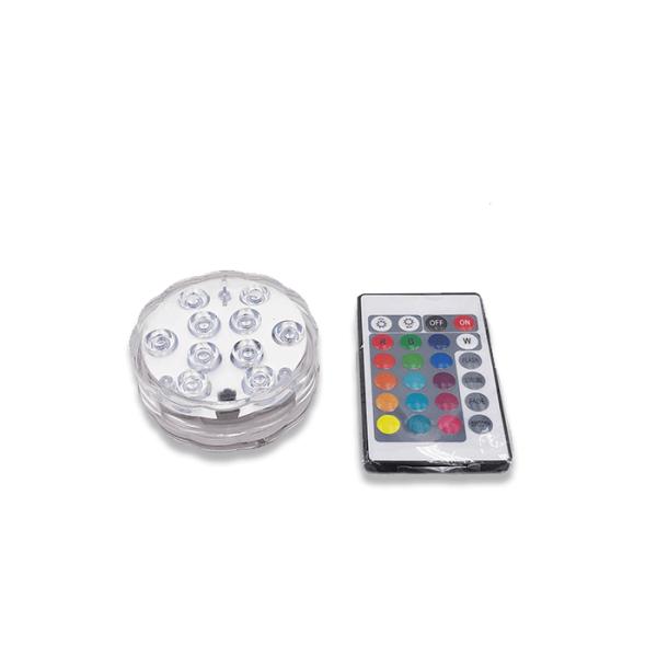 luces led 8 cm de diámetro
