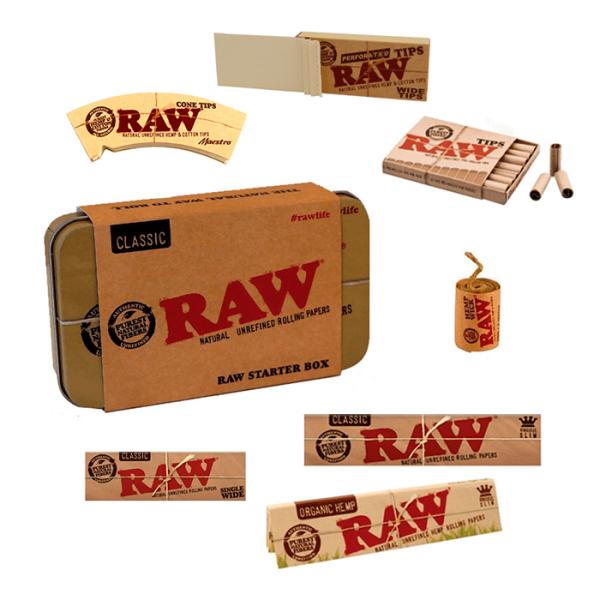 Pack inicio Tabaco Raw