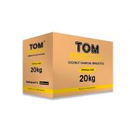 carbón Tom cococha gold 20kg