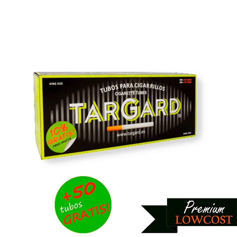 Tubos clasicos 550 unidades Targard 50 gratis