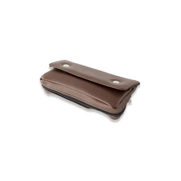 funda para pipa símil piel marrón