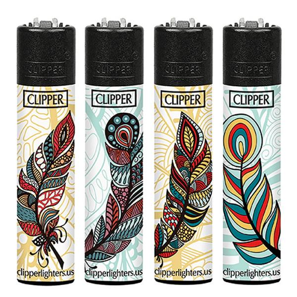 Encendedor Clipper plumas