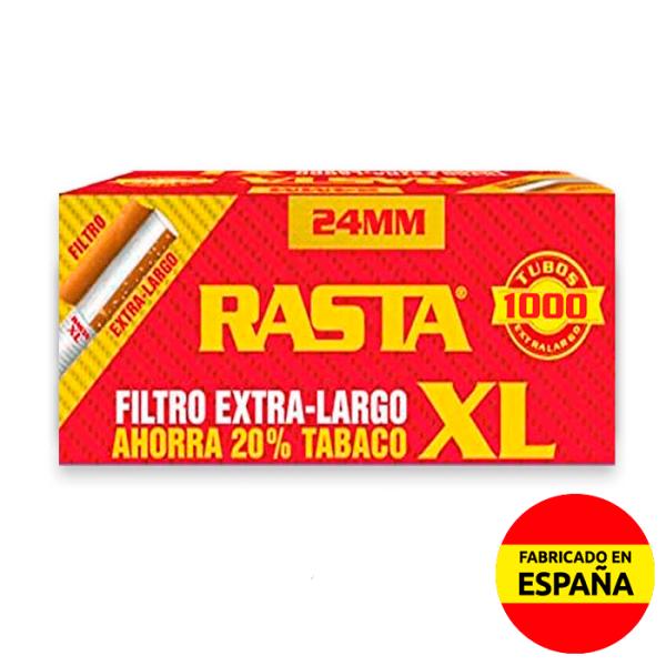 tubos filtro extralargo 100uds Rasta