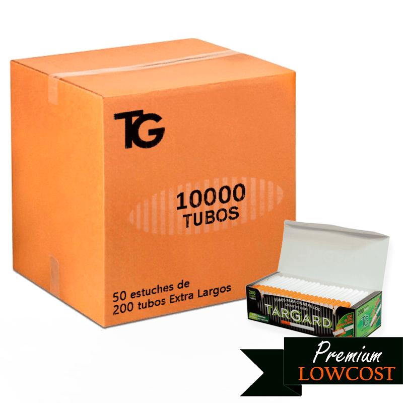 tubos targard filtro extralargo - 10000 uds