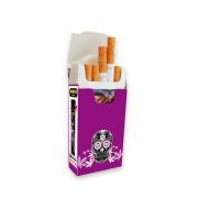 cajetilla cartón para cigarrillos 100 uds calavera