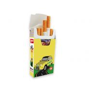 cajetilla de cartón para cigarrillos 100 uds 2cv