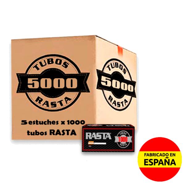 tubos clásicos 5000 uds Rasta