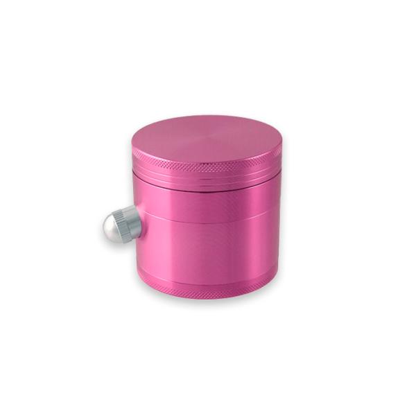 grinder púrpura 4 partes con vertedor