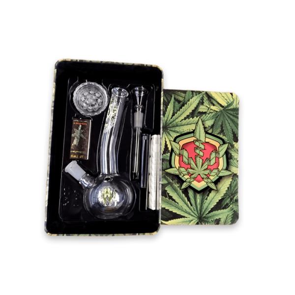 pack weed smoker box pro caja abierta