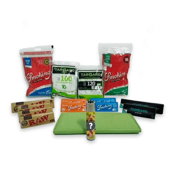 pack para tabaco de liar clasico